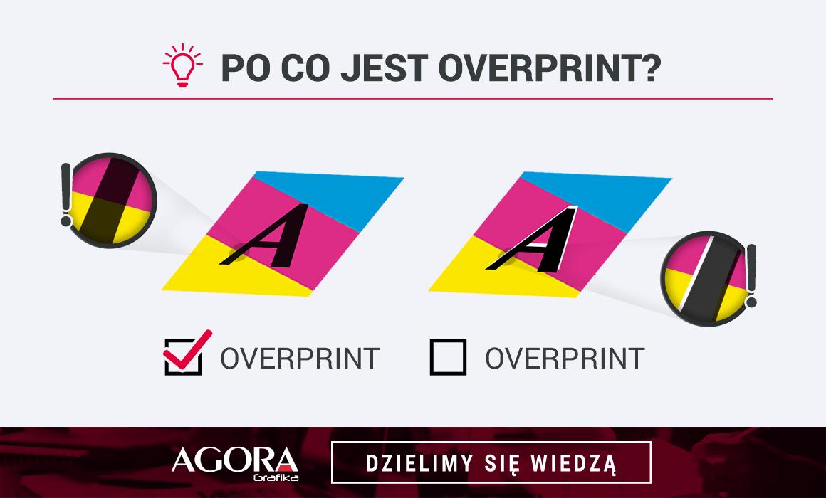 overprint dlaczego ważny