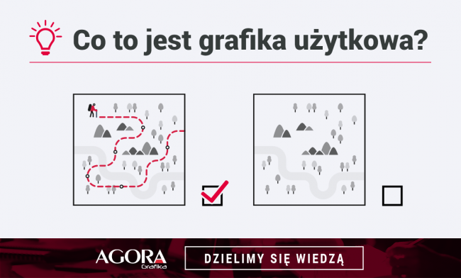 Grafika użytkowa - co to jest? - Agora Grafika